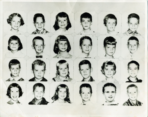 Garrettford Elementary School - Miss McCorkle's 2nd Grade Class (1957-58)