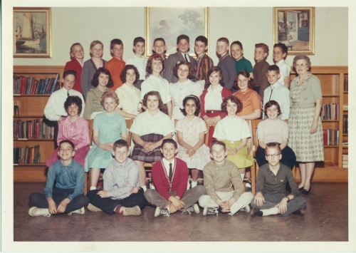 Garrettford Elementary School (Teacher Unknown) 6th Grade Class (1960-61)