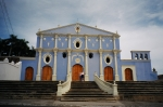 Granada, the oldest city in Nicaragua.  This is the oldest church in Central America.