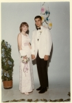 Sue (Walsh) Rakes and Ted Tsouris at the UDHS Junior Prom, May 1967