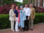 Andrea, Sarah, Allison, Peter, Ralph Knupp at Allison's graduation from Columbia University.