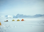 This is our camp 1 above basecamp on Mt Vinson in Antarctica-2006
