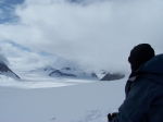 This is a photo taken on the Baldwin Glacier in Alaska-2006   My guide and I were doing a ski traverse of the area.  It
