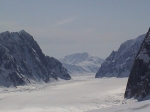 I took this photo of the Ruth Gorge on the Ruth Glacier in Denali National Park-2008.  We flew in on a ski plane and spe