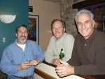 The guys hangin' out - Jeff Harris, Jim Arbuckle & Bill Bellano