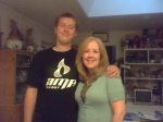 My youngest and tallest son, Chase, turned 18! I always knew he'd be taller than me.