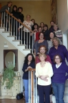 Top to bottom, L to R: Nancy Iredale, Linda Falkow, Janet Toomey, Joanne Caruso, Robin Buzzelli, Cathe DiCrecchio, Margi