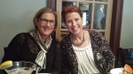 Jo Landow and Margo Callis - Lunch at McCrossen Tavern